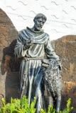 Saint Francis in Galapagos Royalty Free Stock Images