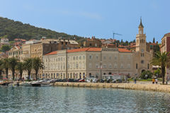 Saint Francis Monastery and church.Split. Croatia Royalty Free Stock Image