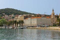Saint Francis Monastery et église fractionnement Croatie Photos libres de droits