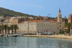 Saint Francis Monastery et église fractionnement Croatie Image libre de droits