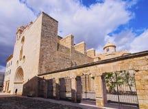 Saint Francis Monastery in Mahon on Minorca Royalty Free Stock Photo