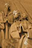 Saint Francis Xavier Praying. Detail of the Monument to the Discoveries in Belém, Lisbon Stock Photos