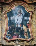 Saint Francis Xavier. On the Saint Anthony altar in the church of Saint Leonard of Noblac in Kotari, Croatia Royalty Free Stock Photography