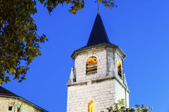 Saint-Francois-de-Sales Cathedral in Chambery Stock Photos