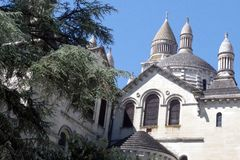 Saint Front Cathedral, pilgrimage way to Santiago de Compostela, UNESCO World Heritage site. stock photo