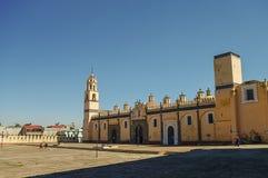 Saint Gabriel Archangel friary (Convento de San Gabriel), Cholul. A, Puebla, Mexico Royalty Free Stock Photo