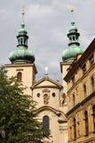 Saint Gallus church in Prague royalty free stock photography
