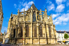 Saint Gatien's Cathedral in Tours. France Stock Photography