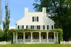 Saint-Gaudens House, Cornish, New Hampshire. Saint-Gaudens House & x28;Aspet& x29;, built in 1817, in Saint-Gaudens National Historic Site in Cornish, New stock photo