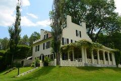 Saint-Gaudens House, Cornish, New Hampshire. Saint-Gaudens House (Aspet), built in 1817, in Saint-Gaudens National Historic Site in Cornish, New stock photos