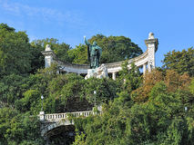 Saint Gellert Monument in Budapest, Hungary Royalty Free Stock Photo