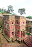 Saint George. Church of Saint George in Lalibela, Ethiopia Royalty Free Stock Images