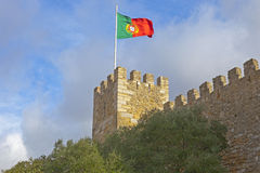 The Saint George Castle Royalty Free Stock Images