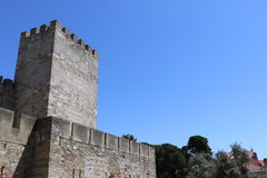Saint George Castle Royalty Free Stock Photography