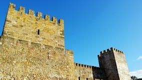 Saint George Castle, Lisbon, Portugal Stock Photos