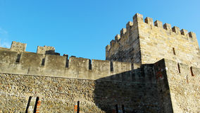 Saint George Castle, Lisbon, Portugal Stock Photo