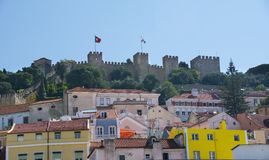 Saint George Castle in Lisbon Portugal Royalty Free Stock Image