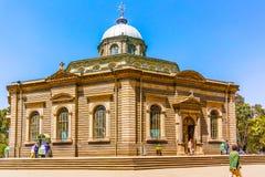 Saint George Cathedral em Addis Ababa Foto de Stock