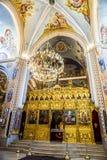 Saint George Cathedral Interior 02 de Beirute fotografia de stock royalty free