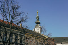 Saint George Cathedral in Novi Sad, Serbia Stock Photography