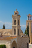 Saint George Cathedral, Paralimni, Chypre Image stock
