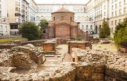 Sofia, capital of Bulgaria Royalty Free Stock Image