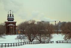 Saint George Church in former royal estate Kolomenskoye Stock Photo