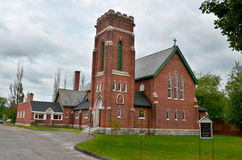 Saint-George church,. Granby, Qc, Canada Royalty Free Stock Photo