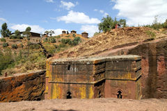 The Saint George Church - Lalibela Stock Image