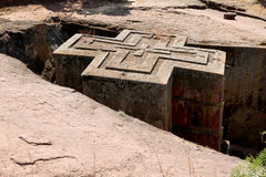 The Saint George Church - Lalibela Royalty Free Stock Images