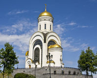 Saint George church, Moscow Royalty Free Stock Images