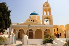 Saint George Church, Oia, Santorini Stock Photos