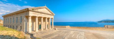 Saint George Church, Old Corfu Royalty Free Stock Photo