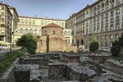 The Saint George Church in Sofia, Bulgaria Royalty Free Stock Photos