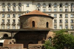 Saint George Church in Sofia, Bulgaria Royalty Free Stock Photography