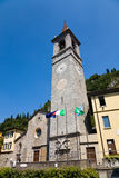Saint George church, Varenna, Italy Royalty Free Stock Images