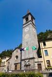 Saint George church, Varenna, Italy Royalty Free Stock Images
