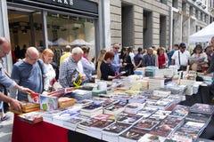Saint George Day in Barcelona, Spain Stock Image