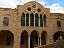 Saint George Greek Orthodox Cathedral, Beirute, Líbano fotos de stock