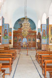 Saint George Greek Orthodox Church Altar Image stock