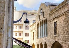 Saint George Greek Orthodox Church, Beyrouth Images stock