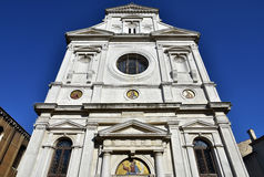 Saint George of the Greek in Venice, seen from below Royalty Free Stock Photos