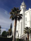 Saint George LDS Temple royalty free stock photo