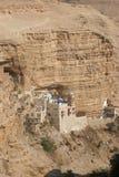 Saint George monastery in Judea desert Stock Images