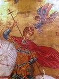 Saint George. Orthodox icon Stock Images