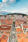 Saint George's Castle , Lisbon, Portugal Stock Photos