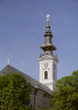 Saint George's Cathedral, Serbia Royalty Free Stock Photos