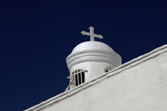 Saint George's Chapel, Mount Lycabettus, Athens, Greece Royalty Free Stock Images