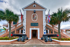 Saint George's Town Hall - Bermuda Stock Photo