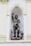 Saint George Slaying The Dragon Royalty Free Stock Image